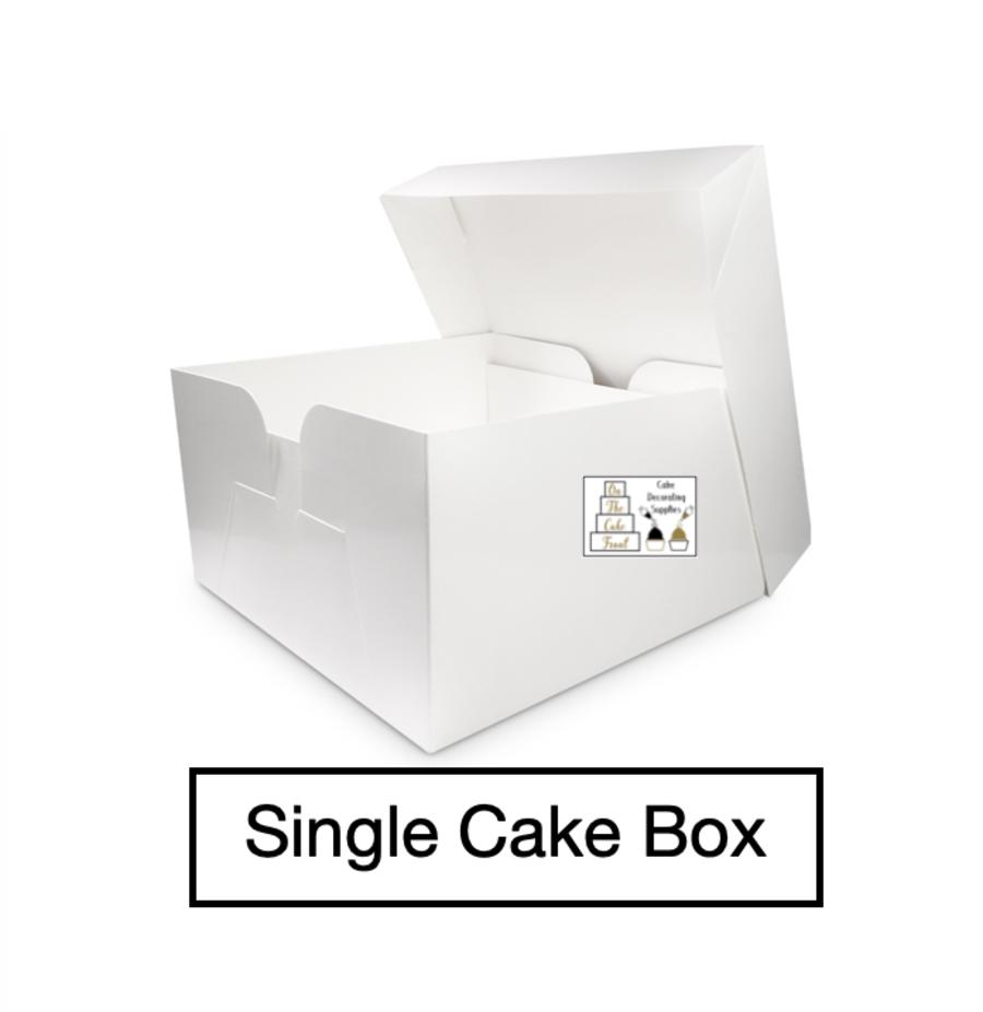 Inch Tall Cake Box