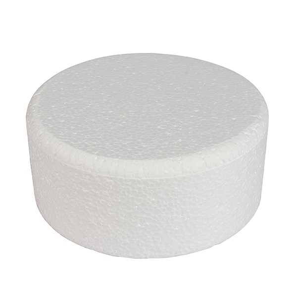 8 inch round bevelled cake dummy 5 inch high