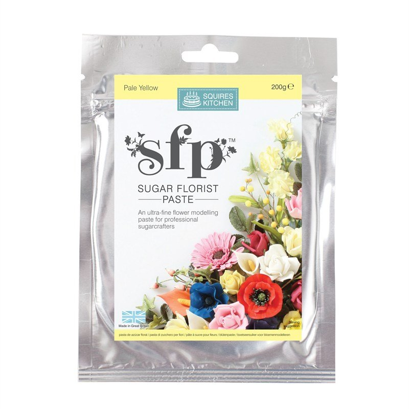 Pale Yellow Squires sugar flower paste (SFP) 200g