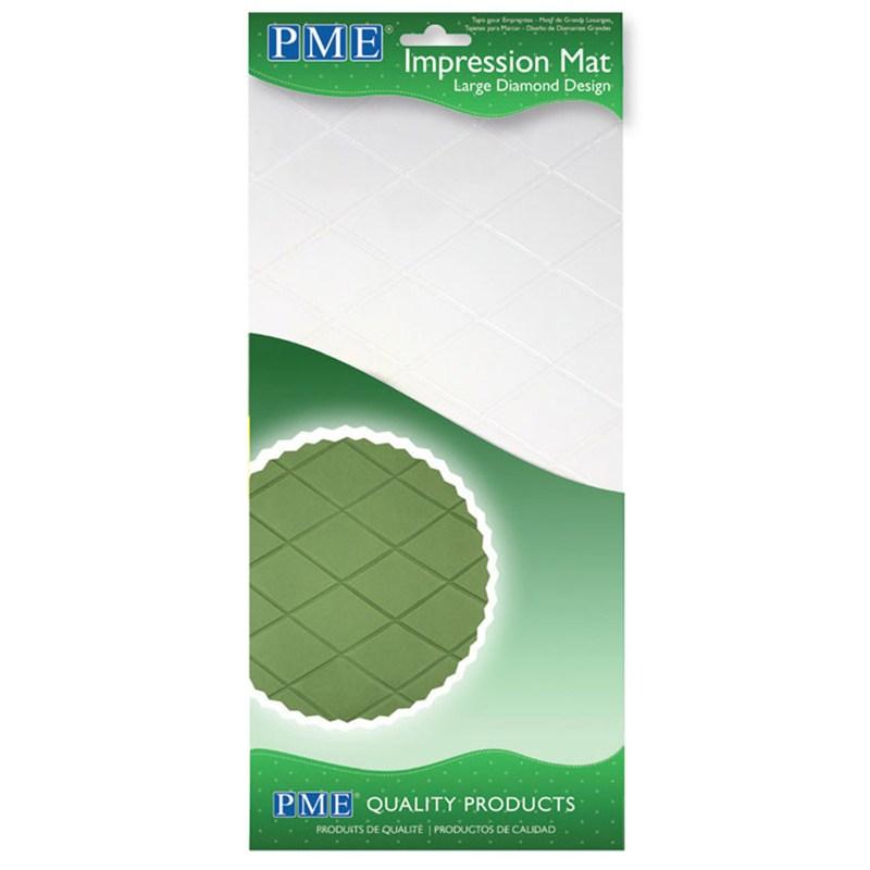 PME impression mat large diamond pattern