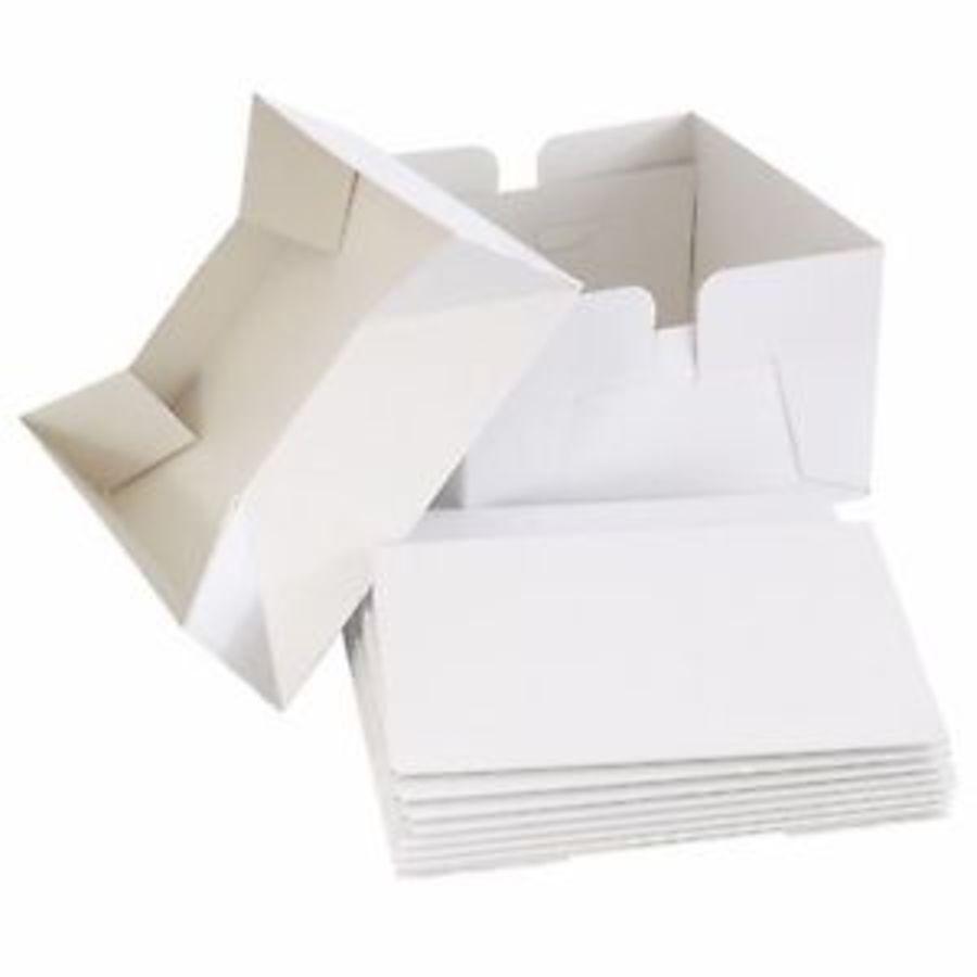 10 Inch cake BOXES bulk MULTI pack of 5 White