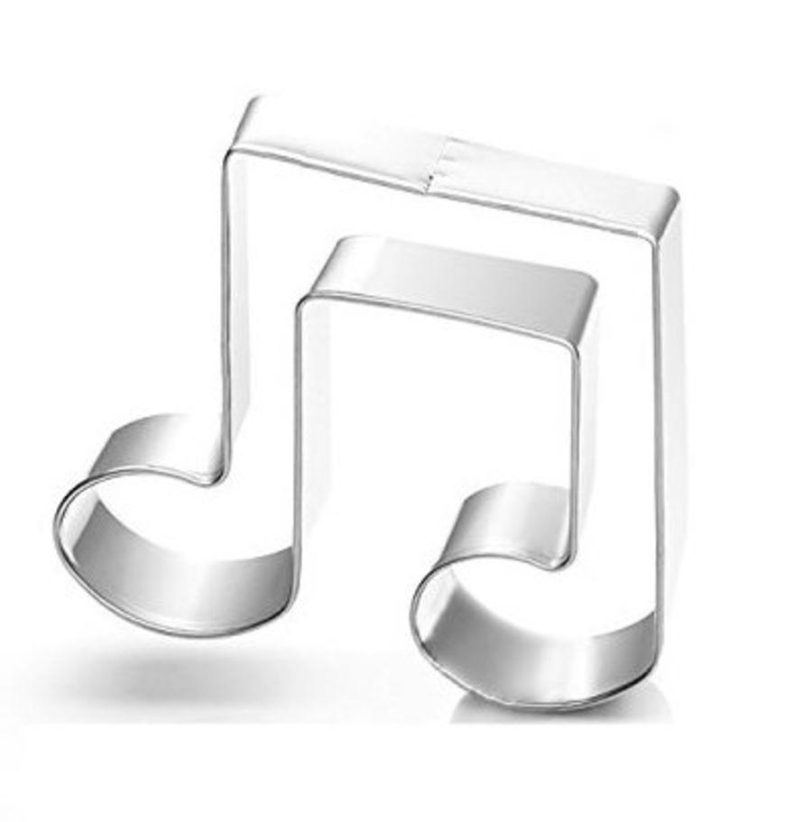 Musical note metal cutter