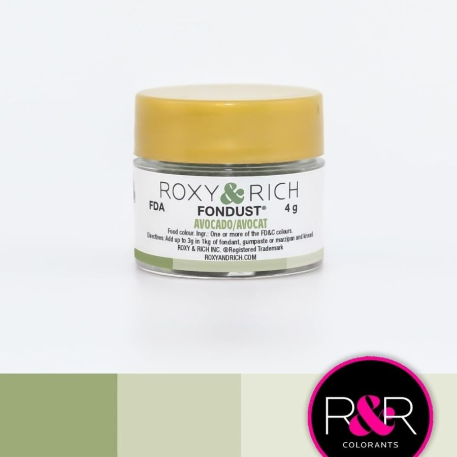 Avocado Fondust dust Colouring Roxy & Rich 4g
