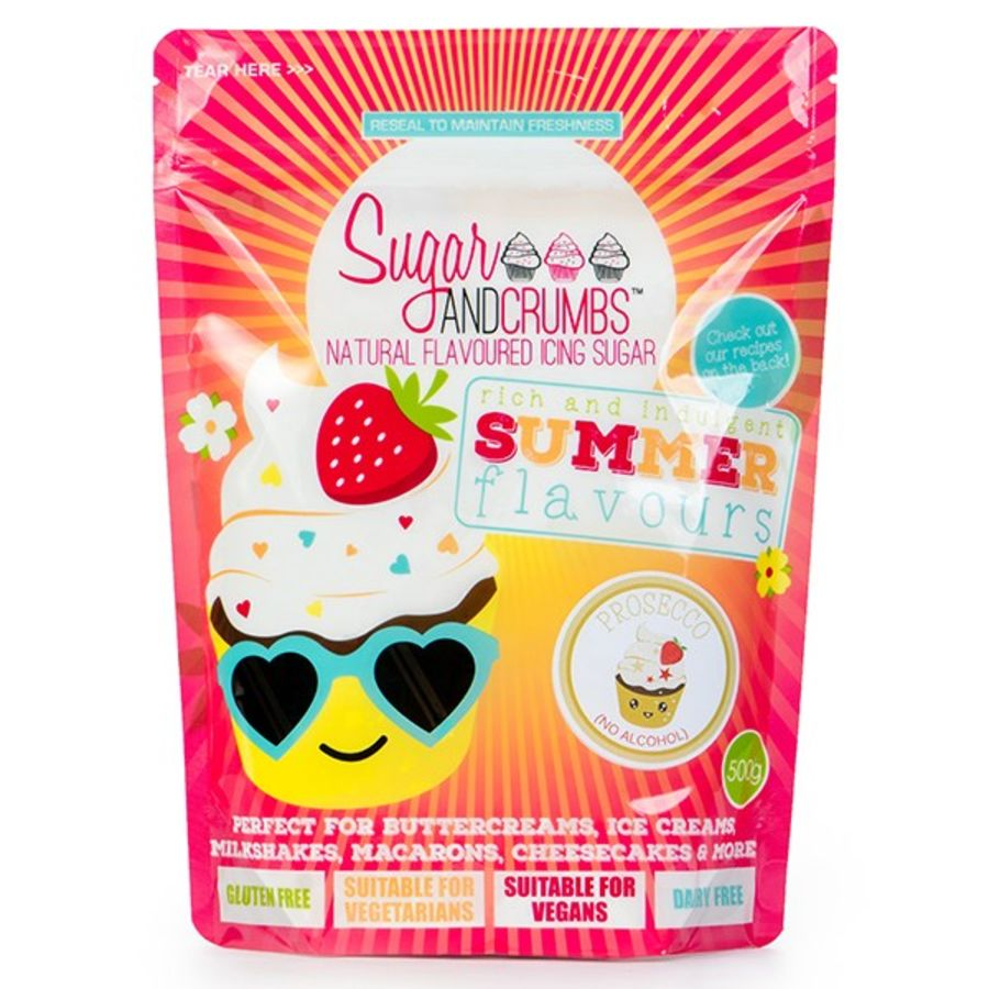 Sugar and Crumbs Prosecco Flavoured icing sugar 500g