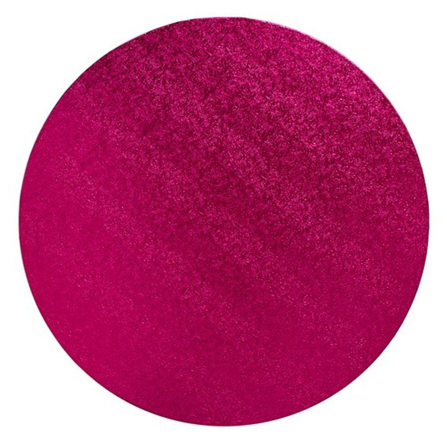14 Inch Cerise Pink ROUND cake board drum