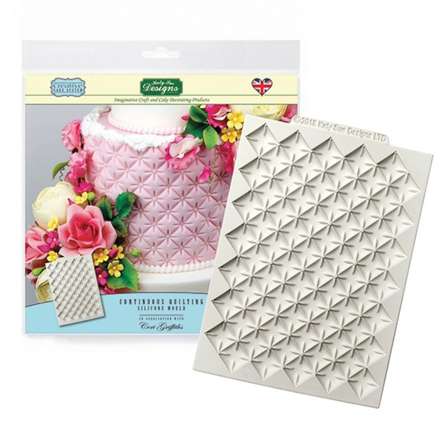 Continuous Quilting Mat Silicone Mould Katy Sue