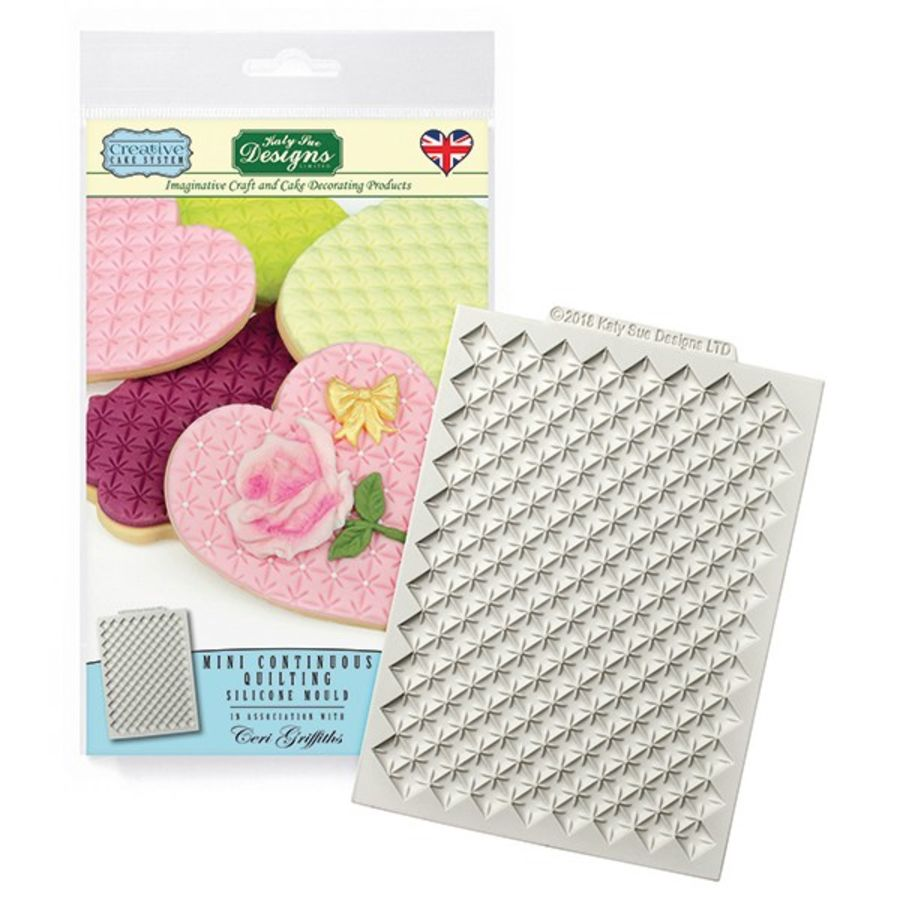 Mini Continuous Quilting Mat Silicone Mould Katy Sue