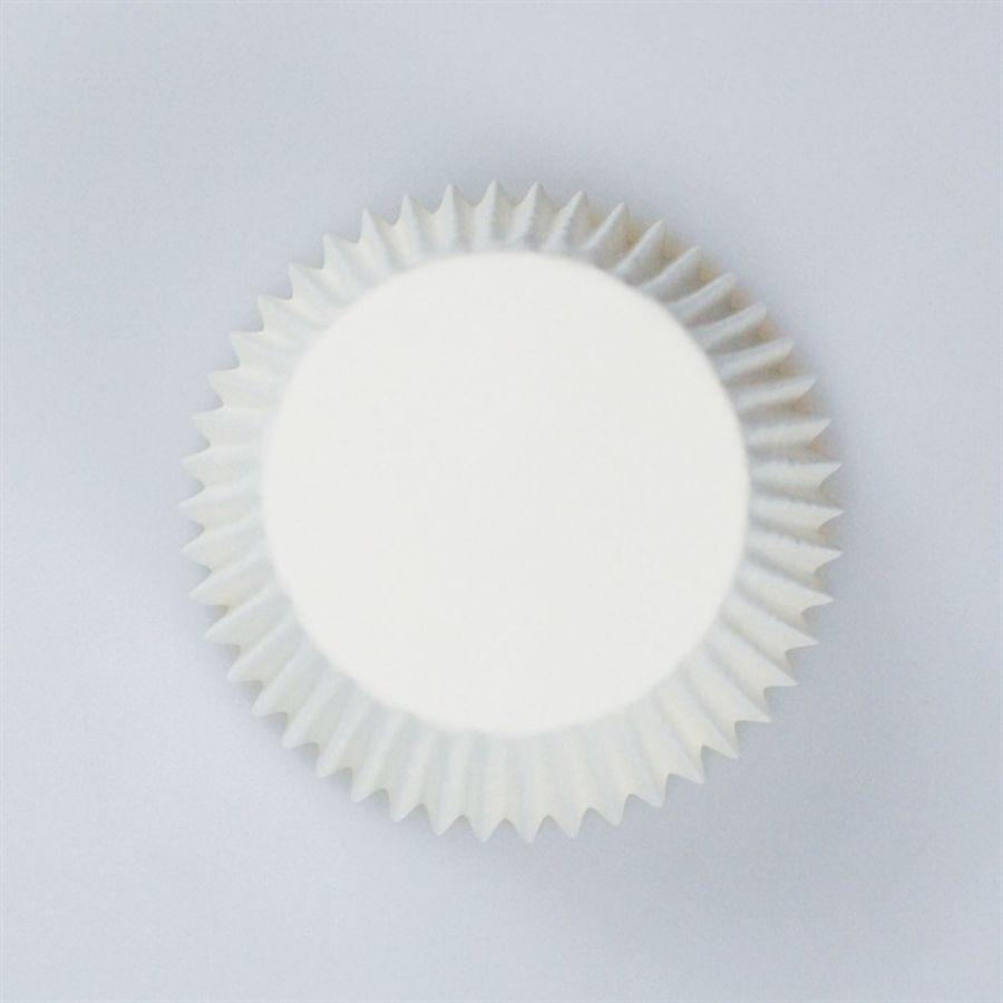 White Cupcake Baking Cases 54 Pack Culpitt
