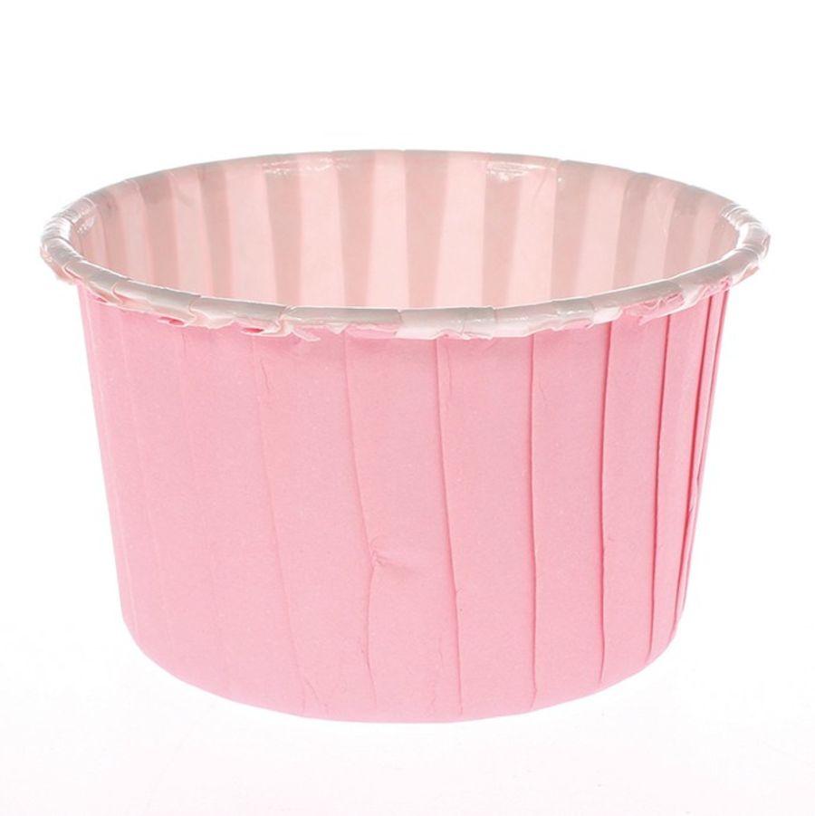 24 Pink Baking Cups Culpitt