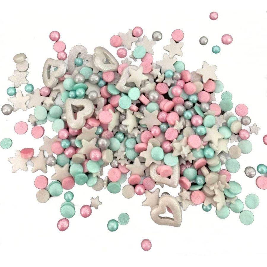 SPRINKLETTI Unicorn Blend Edible Sprinkles 100g