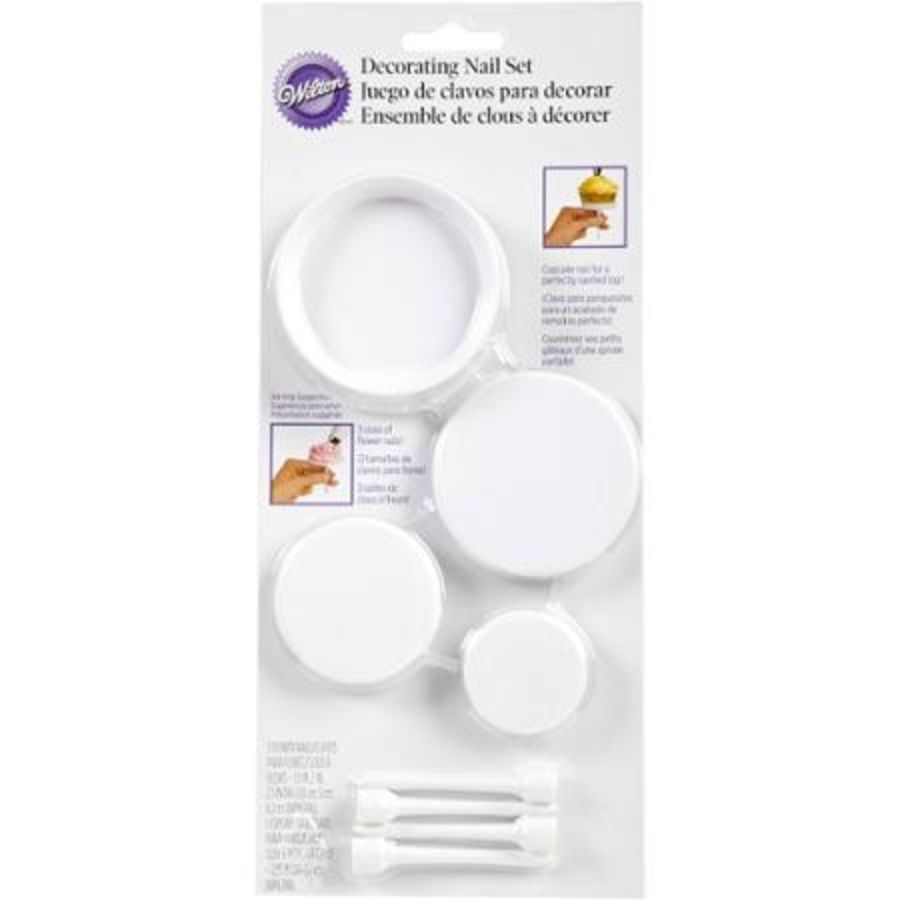 Flower Decorating Nail Set Wilton