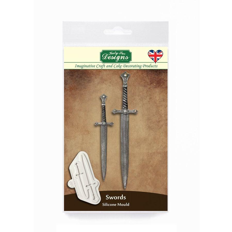 Swords Silicone Mould Katy Sue