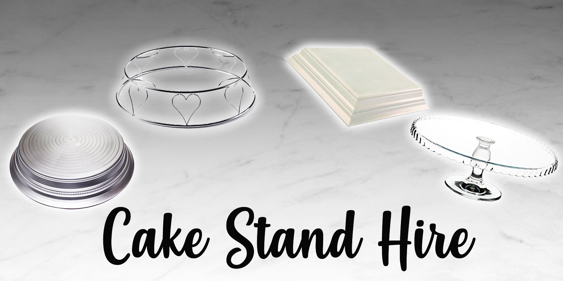 Cake stand hire from our shop