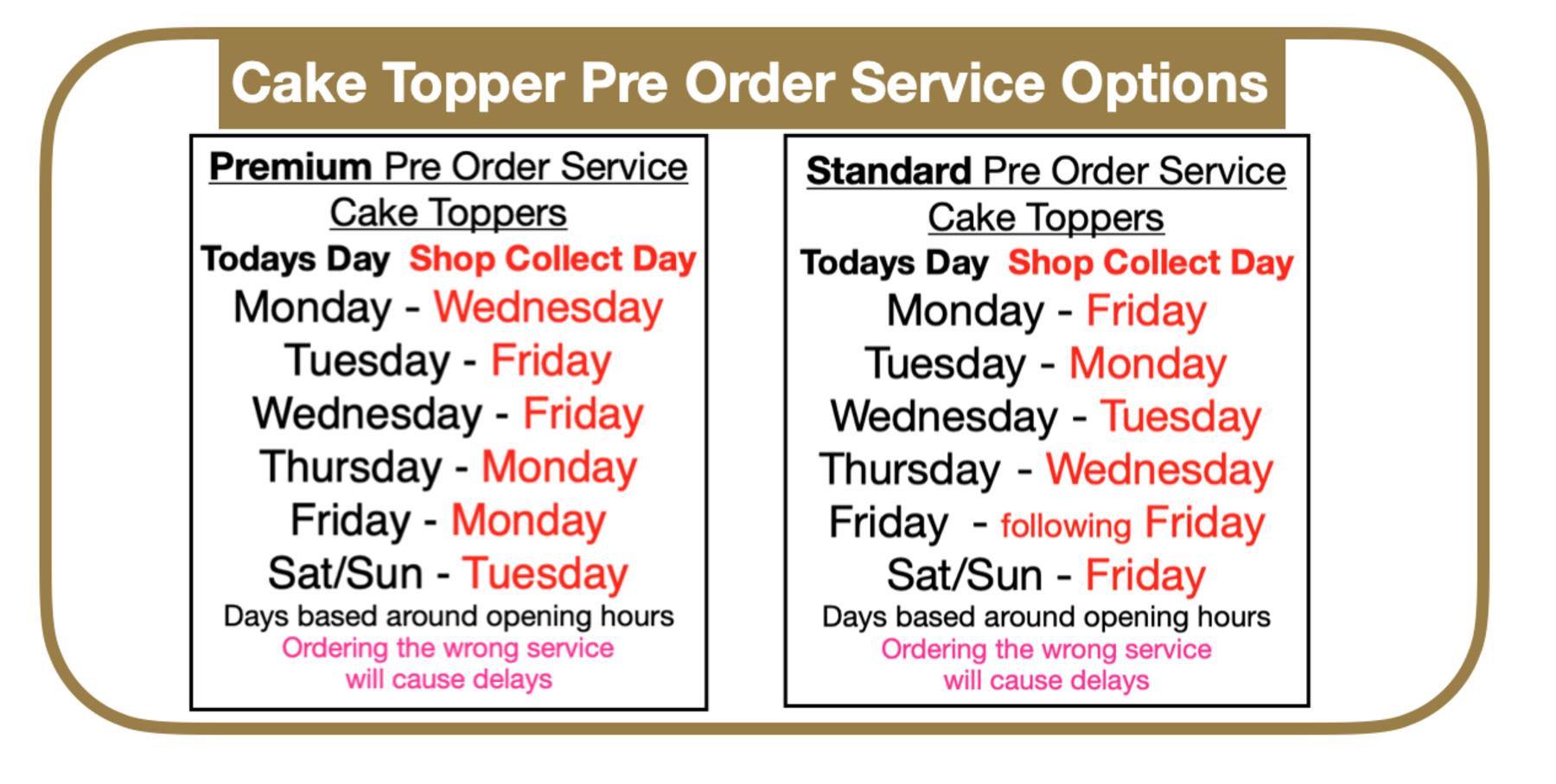 pre order timescale