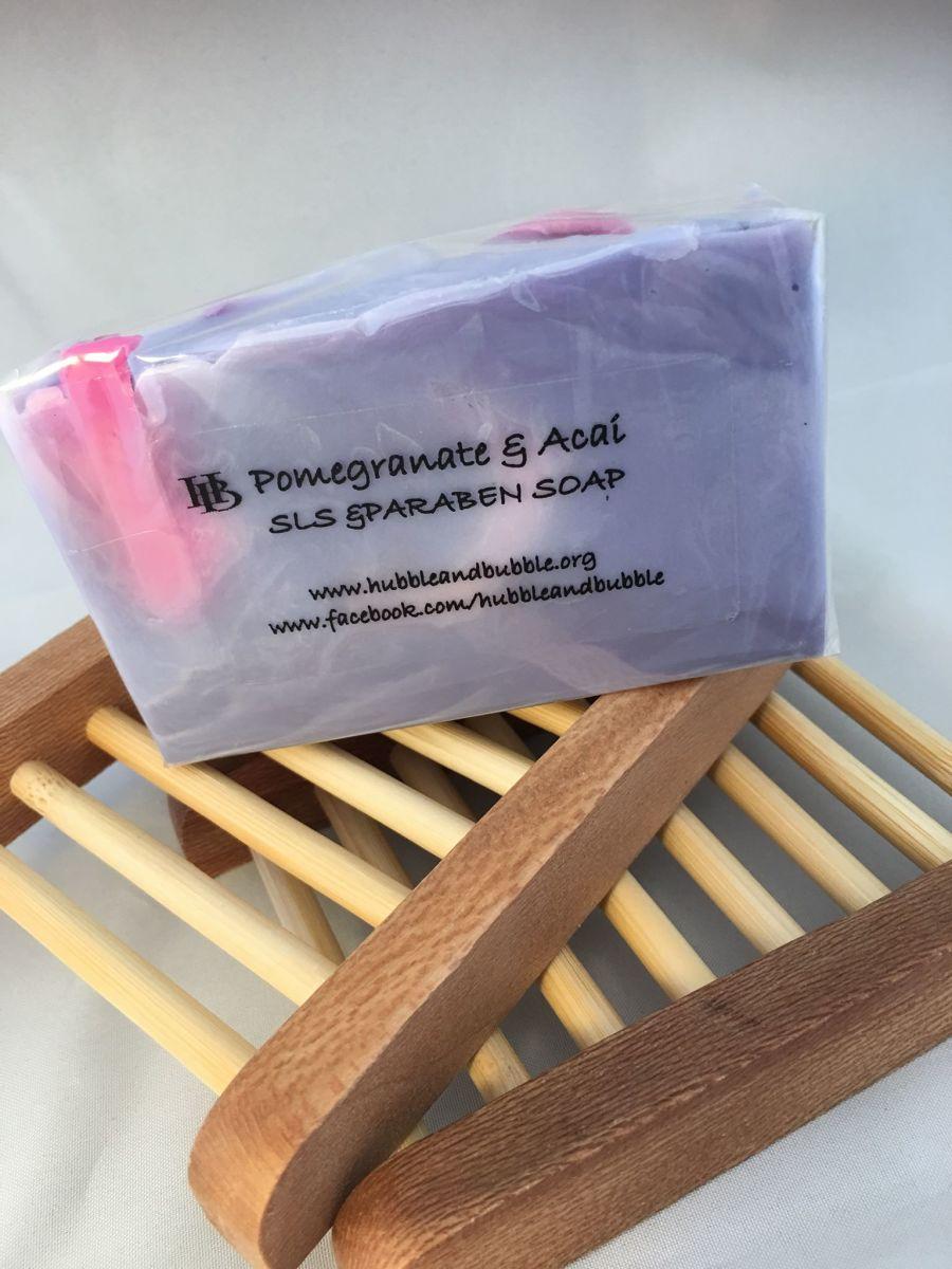 POMERGRANATE & ACAI  SLS FREE SOAP