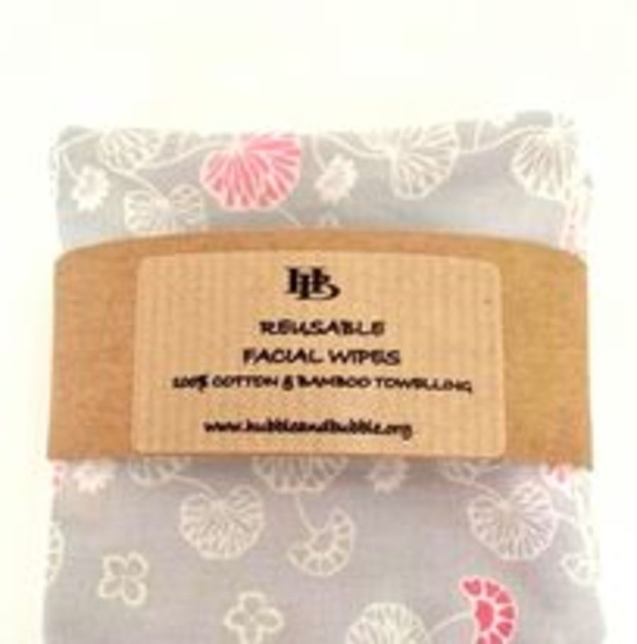 RESUABLE MAKE UP WIPES