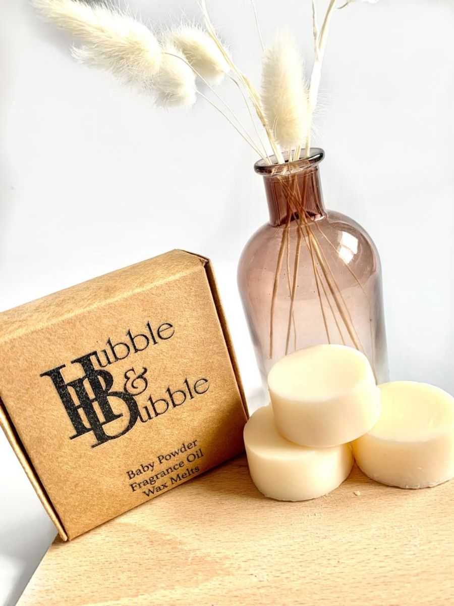 BABY POWDER WAX MELT  SAMPLE