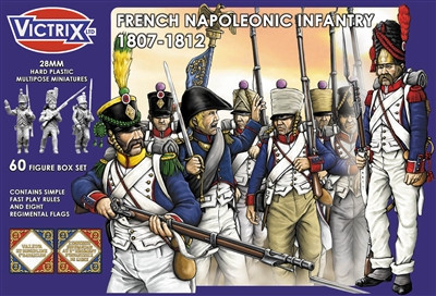 French Napoleonic Infantry 1807-1812