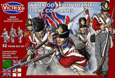 Waterloo British Infantry Flank Companies
