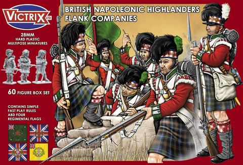 British Highlanders Flank Companies