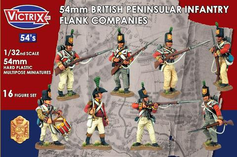 British Peninsular Infantry Flank Companies 54mm