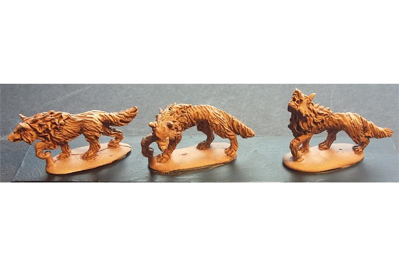 Decian War Wolves (18 figures)