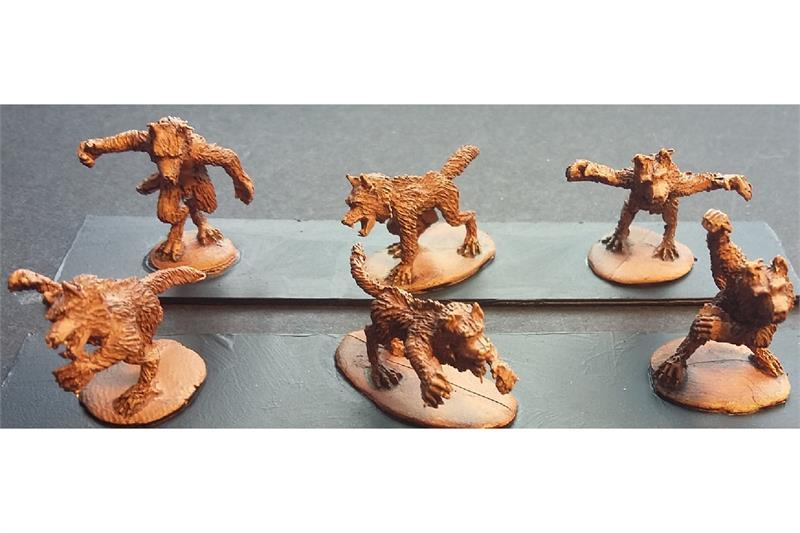 Decian Werewolf Pack (18 figures)