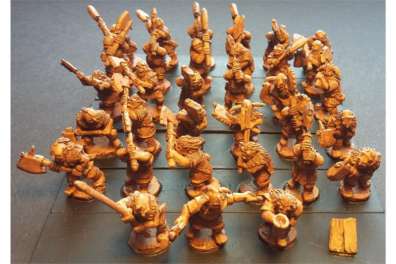 Orcian Double Handed Axemen (35 figures)
