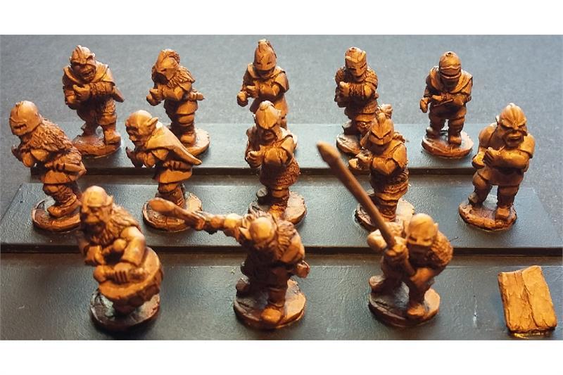 Orcian Pikemen (35 figures)