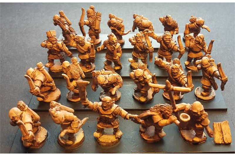 Orcian Bowmen (35 figures)