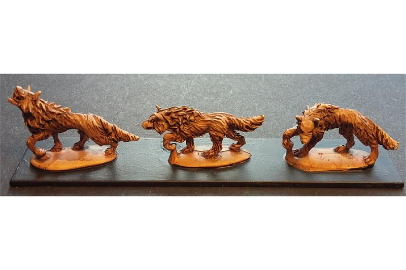 Orcian War Wolves (18 figures)
