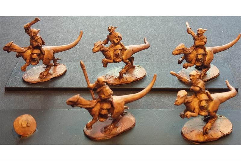 Goblian Raptor Cavalry (16 figures)