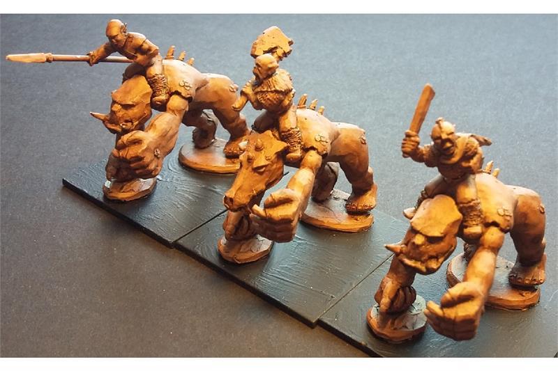 Orcian Moor Beasts (3 figures)