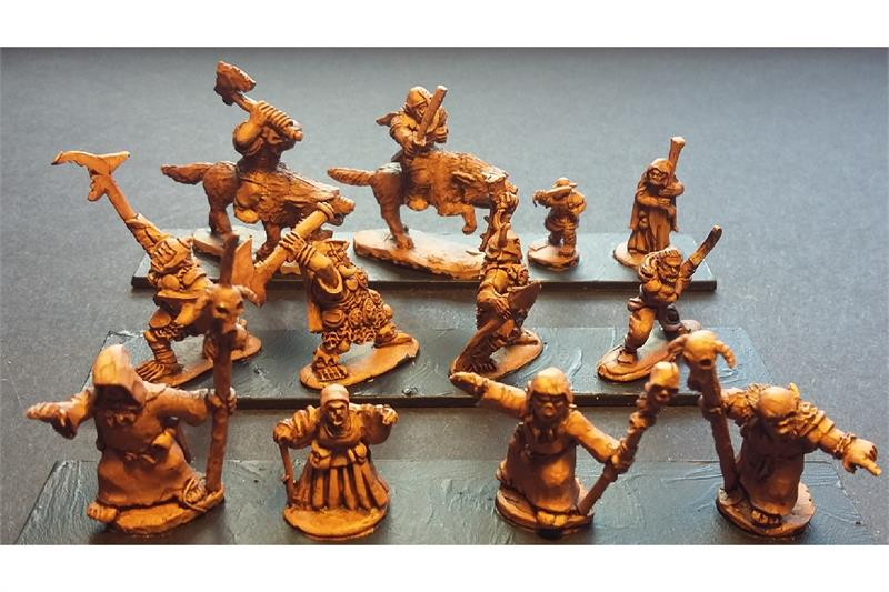 Orcian Characters (12 figures)