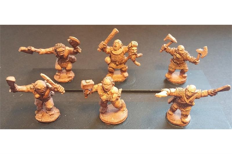 Orcian Berserkers (32 figures)