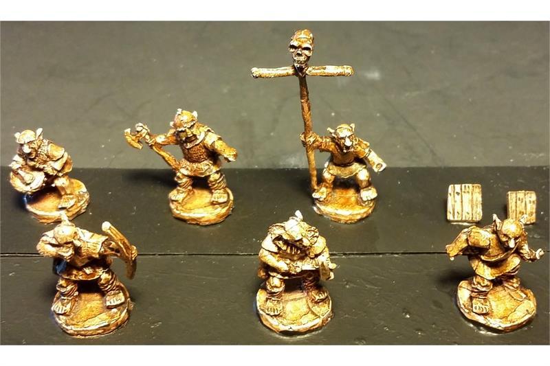 Goblian Bowmen (35 figures)
