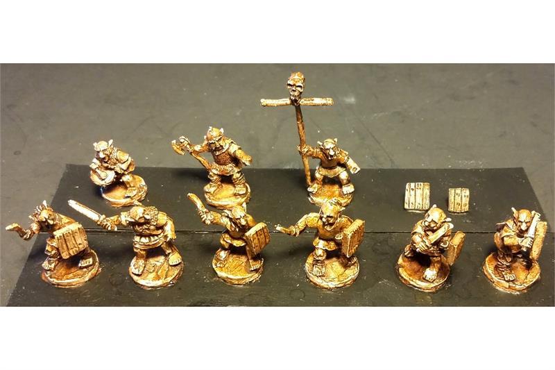 Goblian Swordsmen with Shields (35 figures)