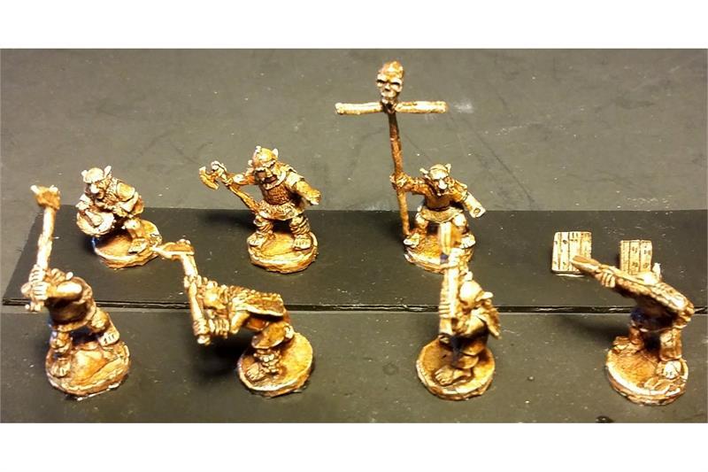 Goblian Double Handed Axemen (35 figures)