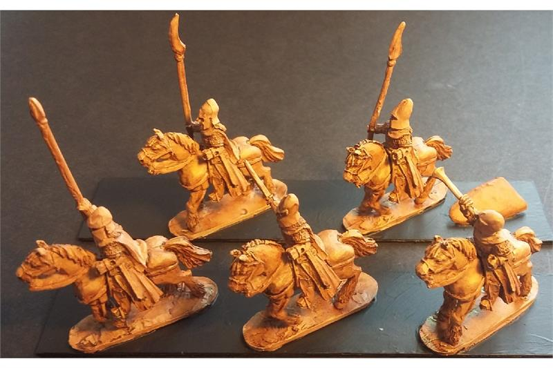 Elvian Cavalry with Spears & Shields (16 figures)