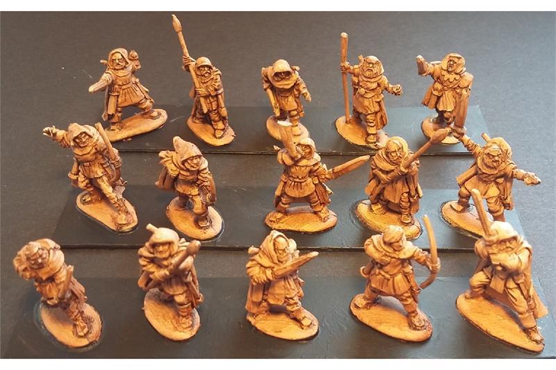 Legian Ranger Bowmen (35 figures)