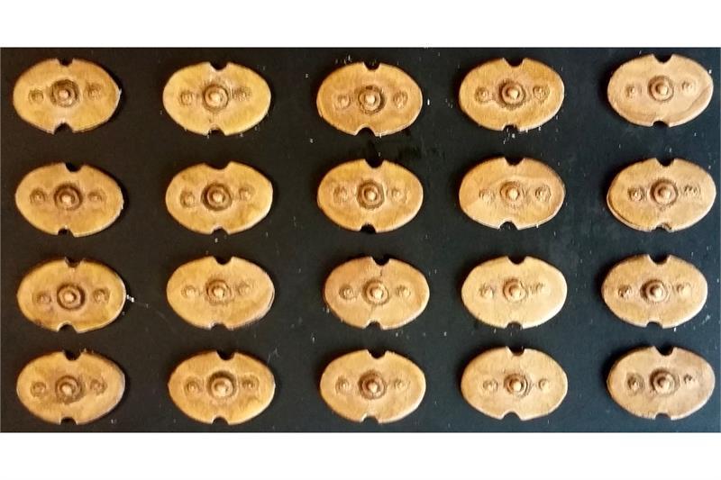 Legian Oval Shields (20 Shields)