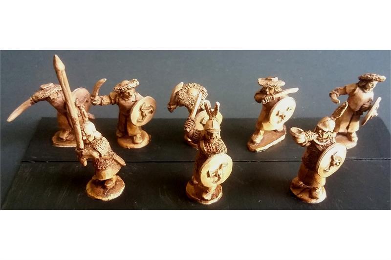 Stygian Swordsmen with Shields (35 figures)