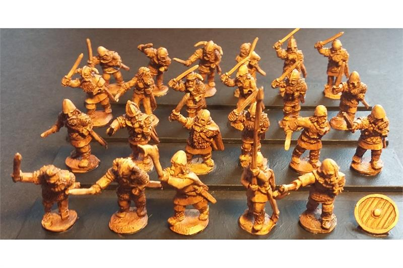 Frigian Swordsmen with Shields (35 figures)