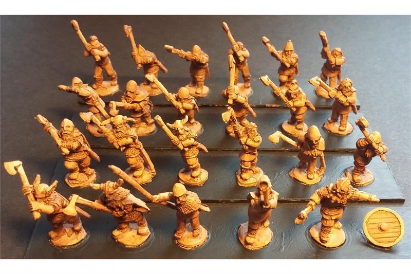 Frigian Double Handed Axemen (35 figures)