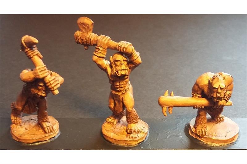 Frigian Ice Trolls (10 figures)