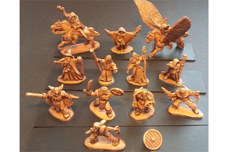 Frigian Characters (12 figures)