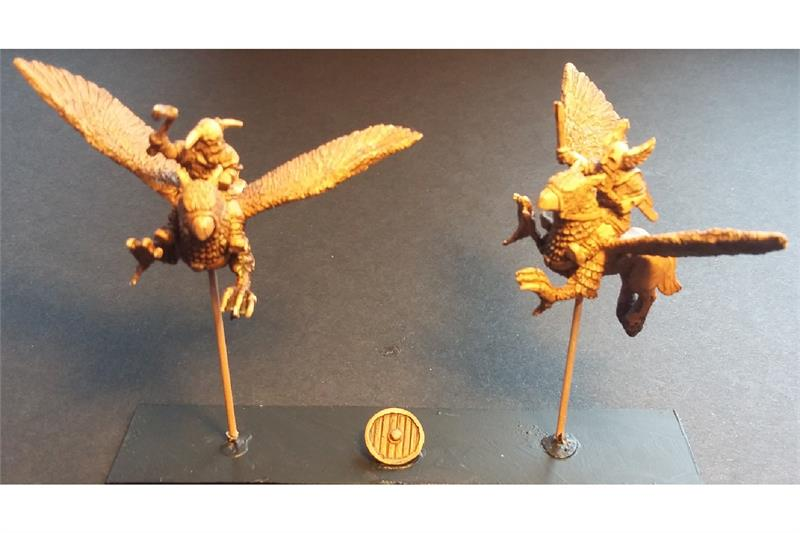 Frigian Hippogriff Riders (3 figures)