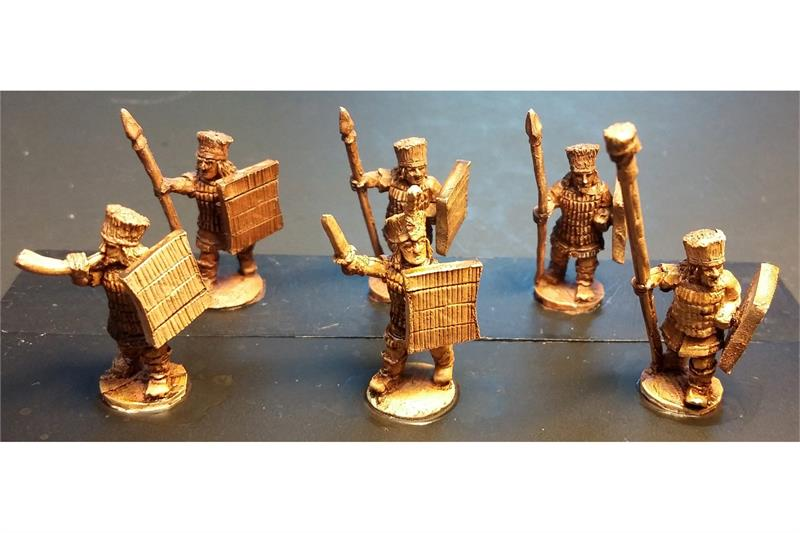 Pyramian Spearmen with Shields (35 figures)