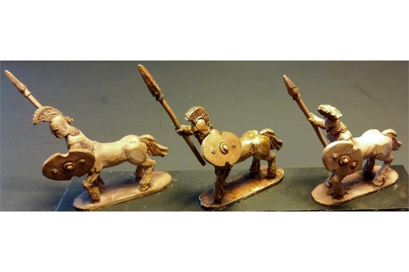 Legian Horsians with Spears and Shields (16 figures)