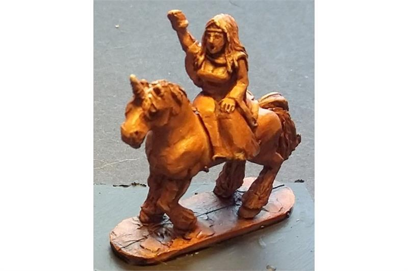 Maiden on Unicorn (1 figure)
